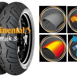 Continental tyre test