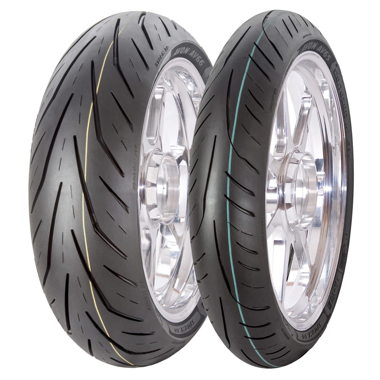 Amazon.com: Avon AV66 Storm 3D XM 180/55ZR17 Rear Tire